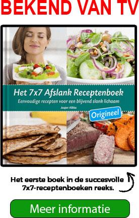 7x7 afslanken receptenboek