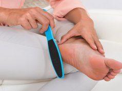 eelt verwijderen van voet